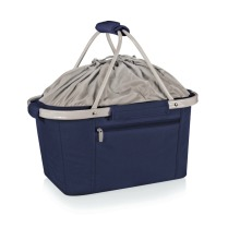 Navy collapsible tote