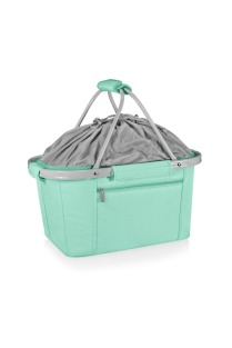 Teal collapsible tote 1