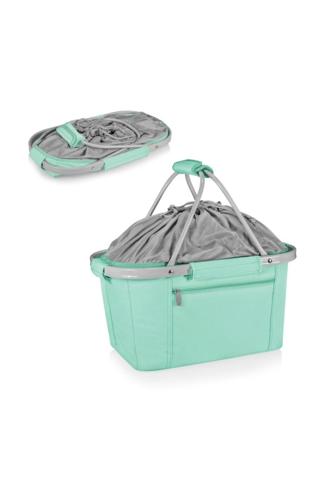 Teal collapsible tote 3